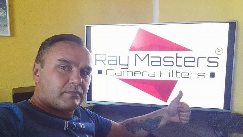 Ray Masters : filtros de resina
