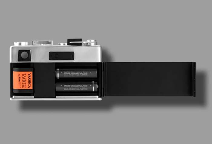 Yashica recauda más de 1,2 millones de dólares para su extraña cámara con carretes digitales