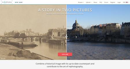 Re.Photos, un portal para bucear en la historia creando (y compartiendo) nuestras propias fotografías del antes y el después