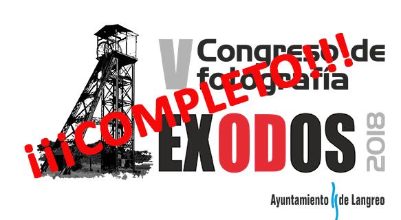 EL V CONGRESO EXODOS COMPLETA SU AFORO