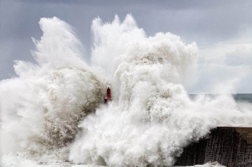 Fotografiar tempestades en el mar, mi método