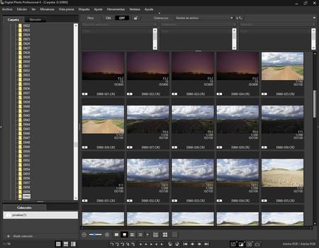 Cómo revelar nuestras fotografías con… Digital Photo Professional de Canon