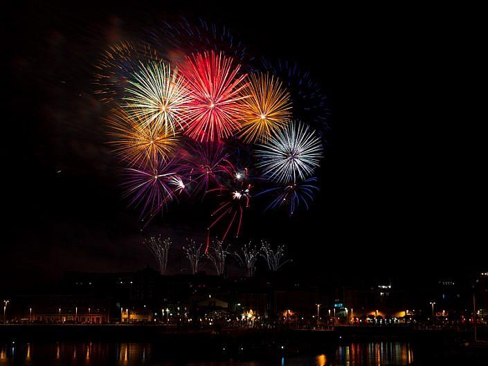 Fuegos Gijón 2018